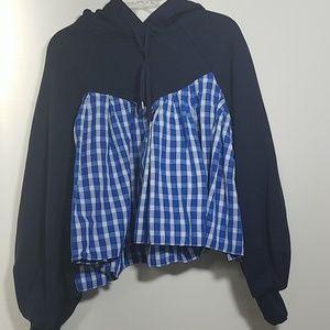 SEA NY Sweatshirt Hoodie Top